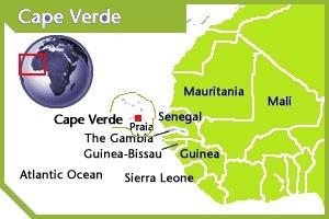 Cape Verde location
