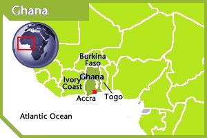 Ghana location