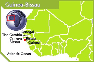 Guinea-Bissau location