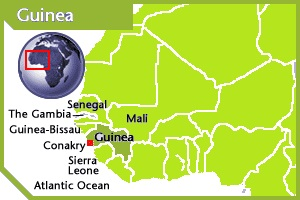 Guinea location